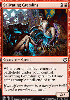 Kaladesh Foil: Salivating Gremlins