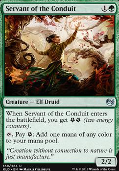 Kaladesh: Servant of the Conduit