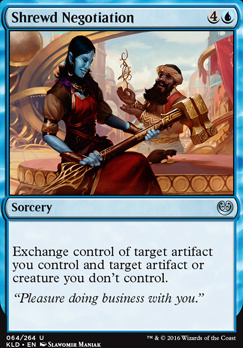Kaladesh Foil: Shrewd Negotiation