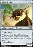 Kaladesh Foil: Snare Thopter