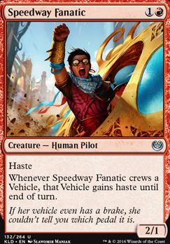 Kaladesh Foil: Speedway Fanatic
