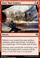 Kaladesh Foil: Start Your Engines