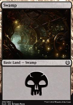 Kaladesh Foil: Swamp (256 A)