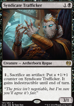 Kaladesh Foil: Syndicate Trafficker