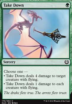 Kaladesh Foil: Take Down