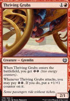 Kaladesh Foil: Thriving Grubs