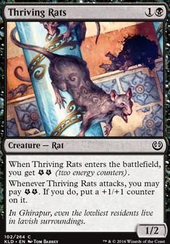 Kaladesh: Thriving Rats