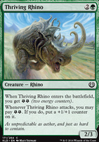 Kaladesh Foil: Thriving Rhino
