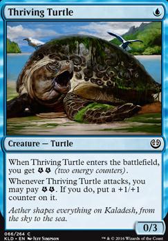 Kaladesh Foil: Thriving Turtle