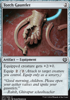 Kaladesh Foil: Torch Gauntlet
