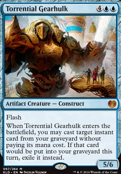 Kaladesh: Torrential Gearhulk