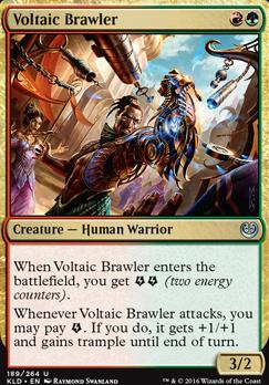 Kaladesh Foil: Voltaic Brawler