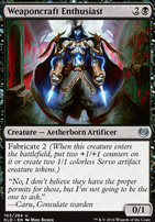 Kaladesh Foil: Weaponcraft Enthusiast