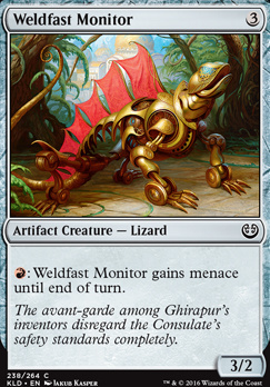 Kaladesh: Weldfast Monitor