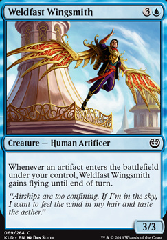 Kaladesh Foil: Weldfast Wingsmith