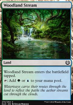 Kaladesh: Woodland Stream (Planeswalker Deck)