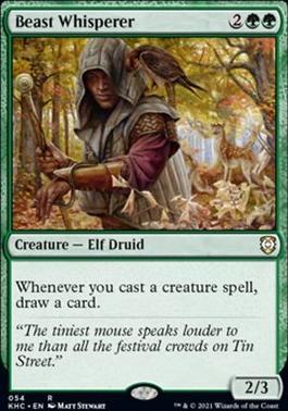 Kaldheim Commander Decks: Beast Whisperer