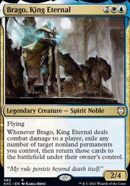 Kaldheim Commander Decks: Brago, King Eternal