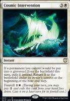 Kaldheim Commander Decks: Cosmic Intervention