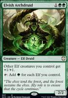 Kaldheim Commander Decks: Elvish Archdruid