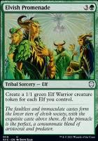 Kaldheim Commander Decks: Elvish Promenade