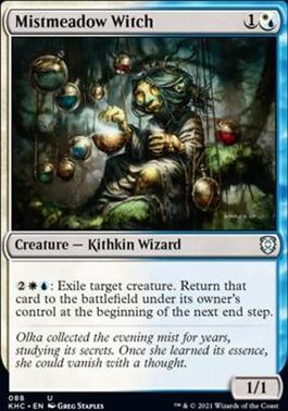 Kaldheim Commander Decks: Mistmeadow Witch
