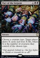 Kaldheim Commander Decks: Pact of the Serpent