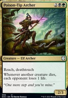 Kaldheim Commander Decks: Poison-Tip Archer
