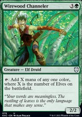 Kaldheim Commander Decks: Wirewood Channeler