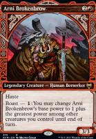 Kaldheim Variants Foil: Arni Brokenbrow (Showcase)