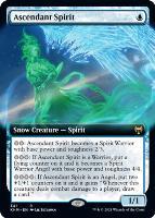 Kaldheim Variants Foil: Ascendant Spirit (Extended Art)