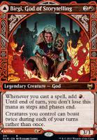 Kaldheim Variants Foil: Birgi, God of Storytelling (Showcase)