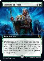 Kaldheim Variants: Blessing of Frost (Extended Art)