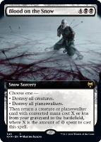 Kaldheim Variants Foil: Blood on the Snow (Extended Art)