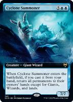 Kaldheim Variants Foil: Cyclone Summoner (Extended Art)