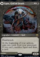 Kaldheim Variants Foil: Egon, God of Death (Showcase)