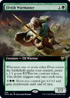 Kaldheim Variants Foil: Elvish Warmaster (Extended Art)