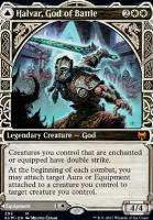 Kaldheim Variants Foil: Halvar, God of Battle (Showcase)