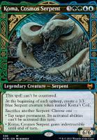 Kaldheim Variants Foil: Koma, Cosmos Serpent (Showcase)