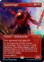 Kaldheim Variants: Quakebringer (Borderless)