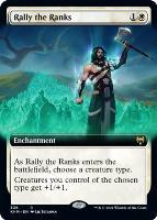 Kaldheim Variants Foil: Rally the Ranks (Extended Art)