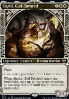 Kaldheim Variants: Sigrid, God-Favored (Showcase)