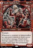 Kaldheim Variants: Toralf, God of Fury (Showcase)
