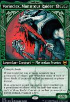Kaldheim Variants: Vorinclex, Monstrous Raider (Showcase)