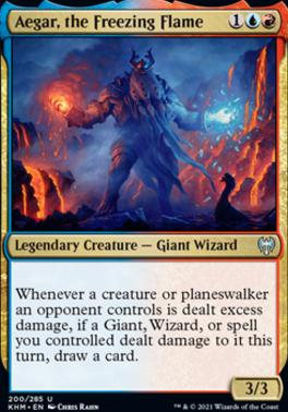 Kaldheim: Aegar, the Freezing Flame