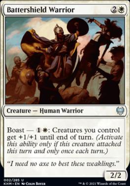 Kaldheim Foil: Battershield Warrior