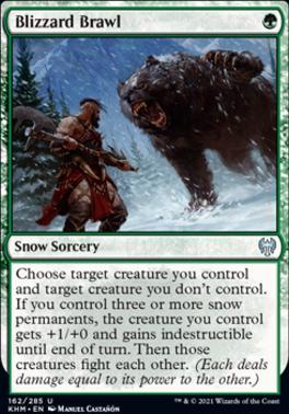 Kaldheim: Blizzard Brawl