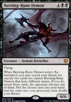Kaldheim: Burning-Rune Demon