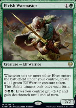 Kaldheim: Elvish Warmaster
