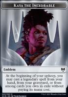 Kaldheim: Emblem (Kaya the Inexorable)